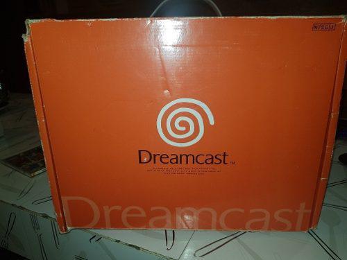 Dreamcast Sega Japones Con Caja Y 2 Juegos