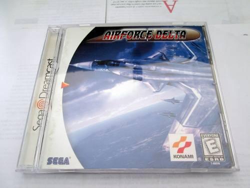 Juego Sega Dreamcast Air Force Delta Aviones