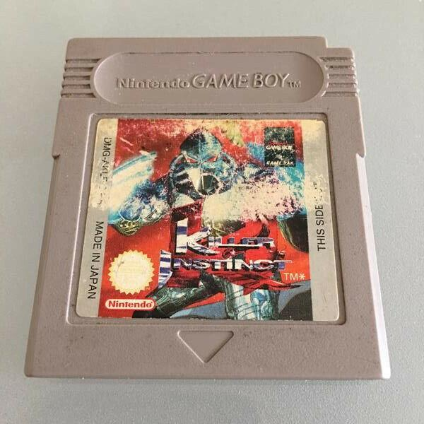 Killer instinct gameboy classic / gameboy color