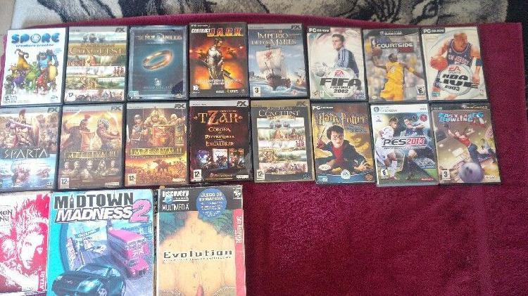 Lote de video juegos originales p/ diferentes dispositivos