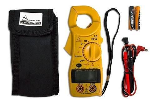 Multimetro de gancho para medir capacitores gb amperimetro