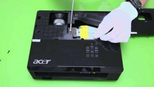 Reparación y mantenimiento de proyectores