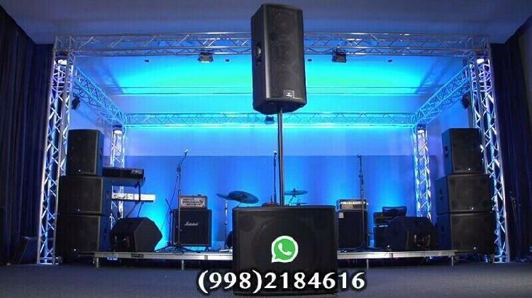 Sound ambition -pro audio rental - iluminacion pantallas