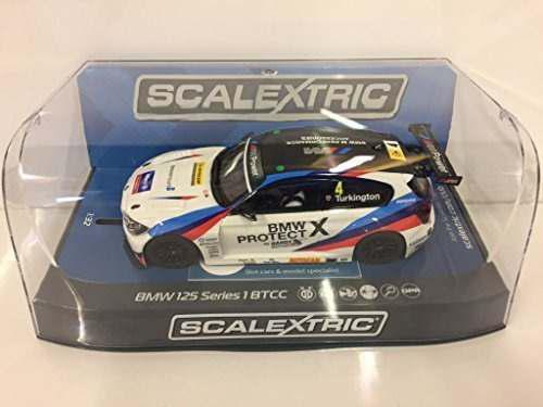 Scalextric c3920 bmw 1 ngtcbtcc colin turkington slot car 1