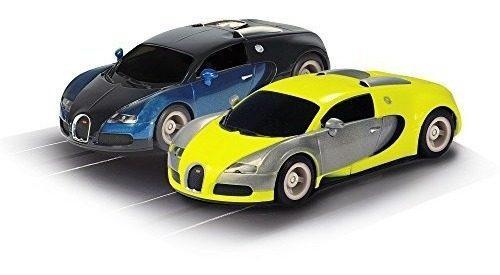 Sistema de carreras scalextric micro hyper-cars (escala 1:64