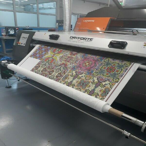 Sublimación textil impresión directa algodón
