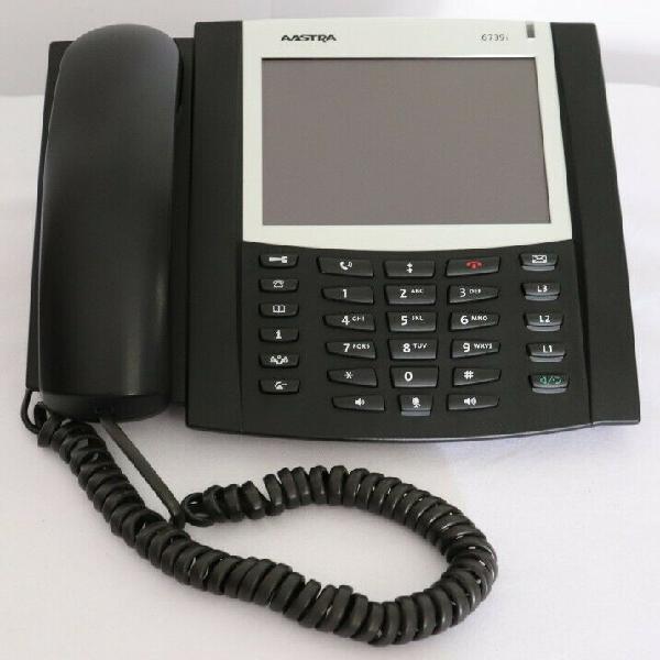 Teléfono ip aastra 6739i