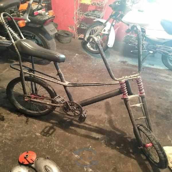 bicicleta vagabundo