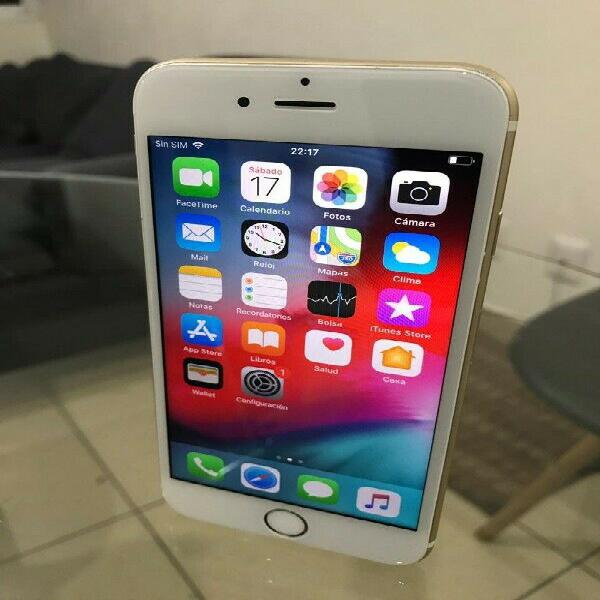 Iphone 6s oro 64gb impecable! menos un detalle...