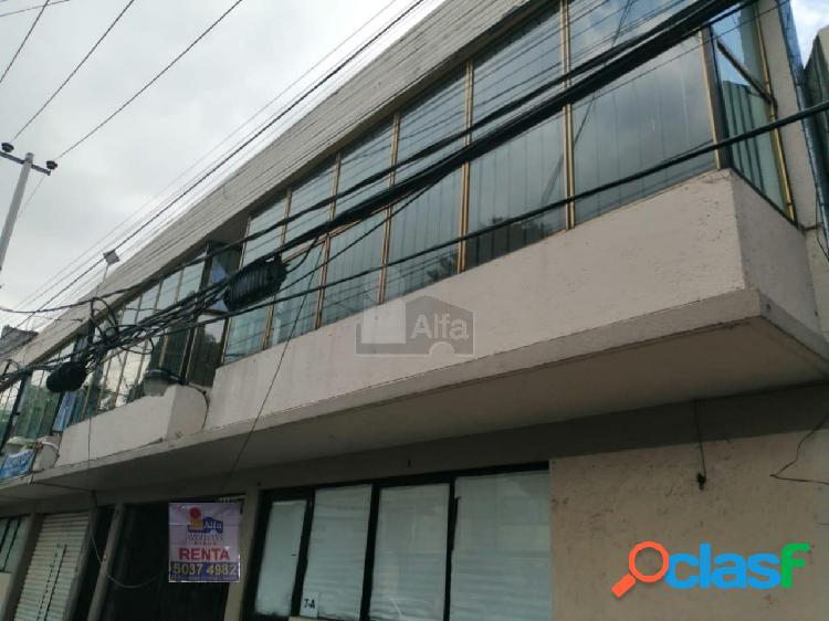 Oficina en renta en tlalpan, oficina en renta colonia rinconada coapa, 82m2 de superficie.