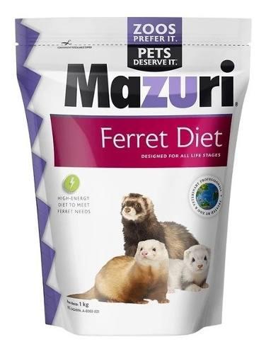 Alimento mazuri ferret huron empaque original 1 kg
