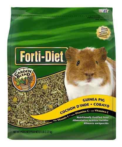 Alimento para cuyo (cobayas) forti-diet kaytee garden blend