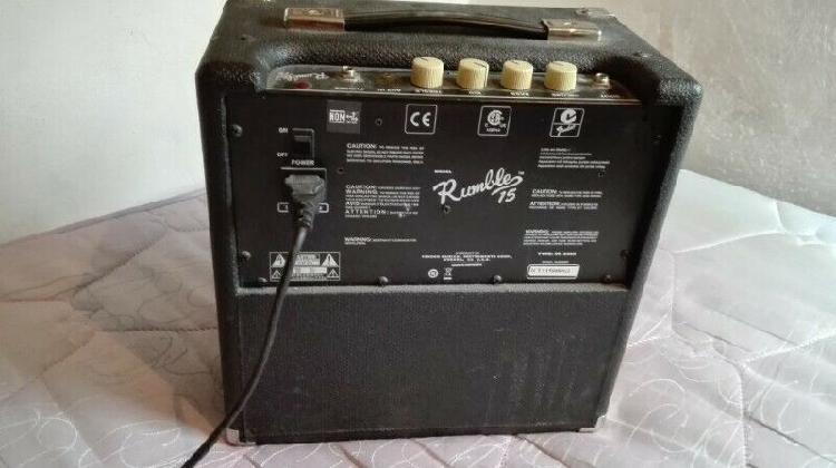 Amplificador para bajo fender