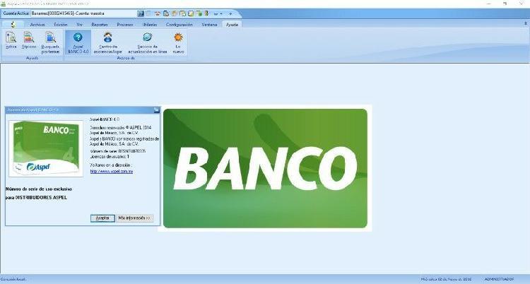 Aspel banco 4.0 - control bancario
