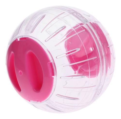 Bola corriente de hámster cristal accesorios juguetes de