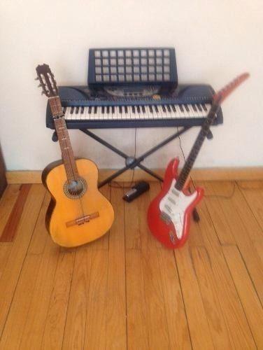 Clases de canto guitarra teclado y piano