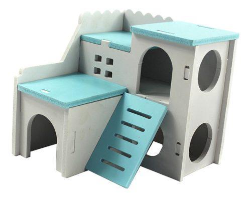 Casa cama mascota hámster hábitat juguete animales