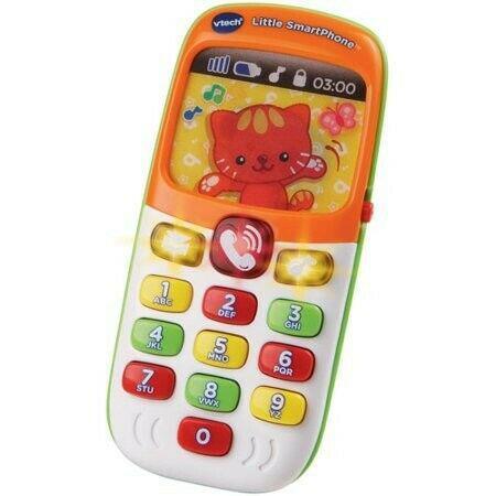 Celular de juguete niños bebés telefono vtech animales