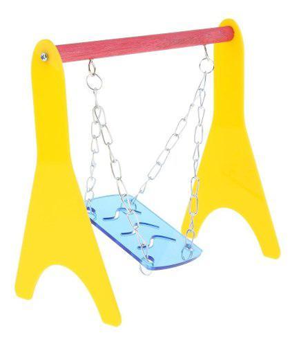 Columpio jaula juguete ejercicio para hámster erizo ratón