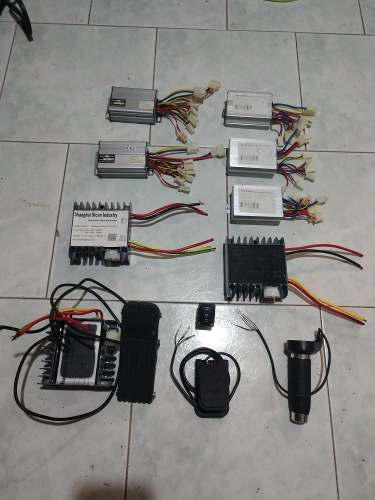 Controlador acelerador 24, 36, 48, 60, volts robotica gokart