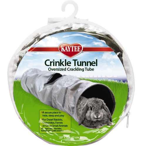 Crinkle kaytee tunel corrugado 58cm colores varios