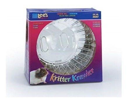 Esfera para hamster mediana transparente