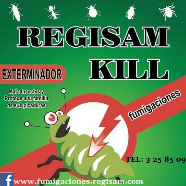Fumigaciones regisam kill