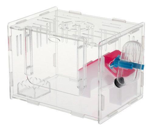 Jaula acrílicos de sola capa transparente accesorios de