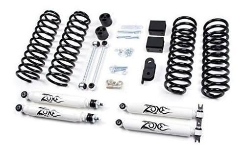 Jeep 3 jk wrangler full suspension lift kit zone offroad (so