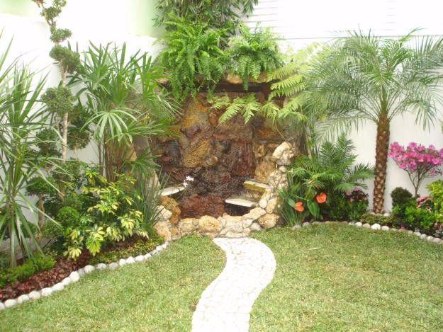 Palapas jardinería cascadas