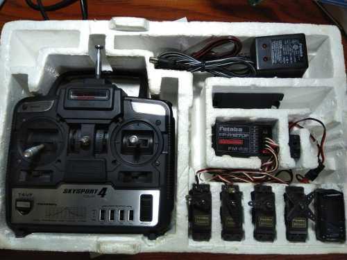 Radio control futaba skysports 4.