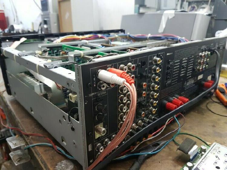 Reparación de amplificadores