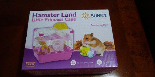 Sunny jaula hamster land little princess cage sp3639