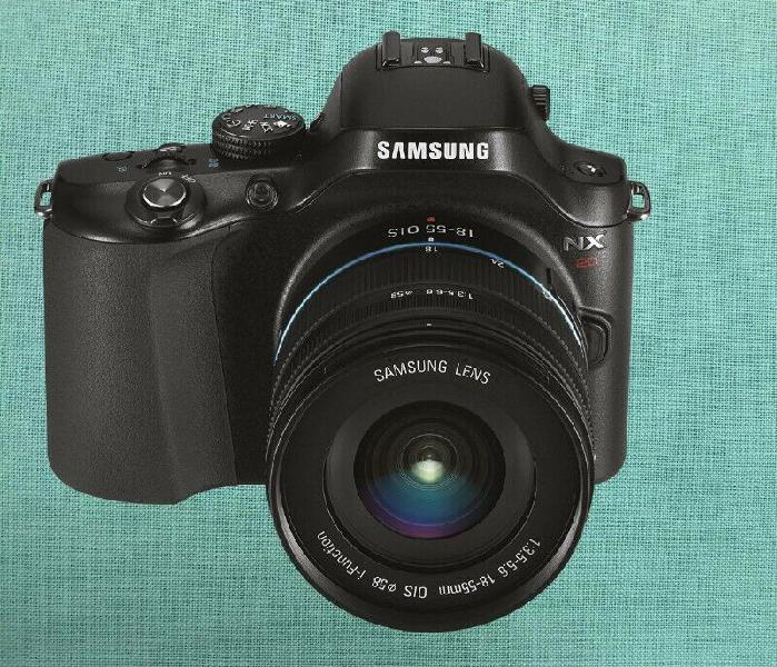 Vendo cámara digital cámara samsung nx20