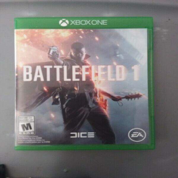 Video juego battlefield 1 para xbox one
