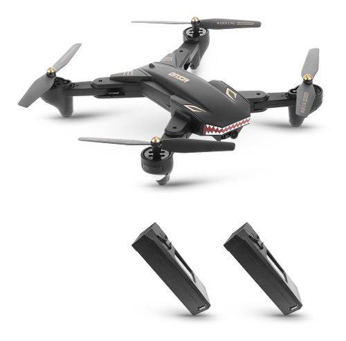 Visuo xs809s 2.0mp hd cámara sharks drone con dos baterías