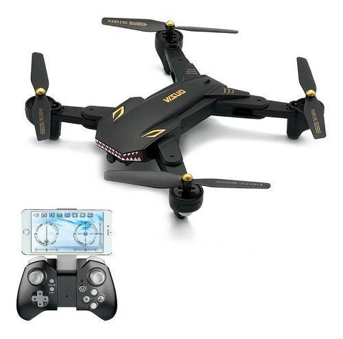 Visuo xs809s cámara de 0.3mp vuelo plegable drone wifi fpv