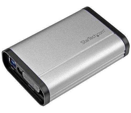 Capturadora de video usb 3.0 a dvi - 1080p 60fps - aluminio