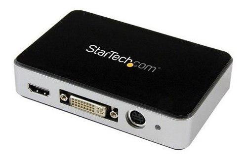 Capturadora video usb 3.0 a hdmi, dvi, vga y video component