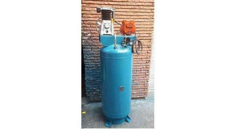 Compresor industrial 3hp con tanque de 235 litros