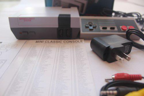 Consola de videojuegos retro mini 620 juegos clasicos