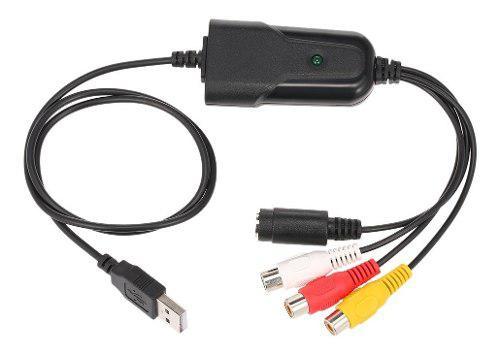 Convertidor vídeo portátil usb 2.0 vídeo audio capture