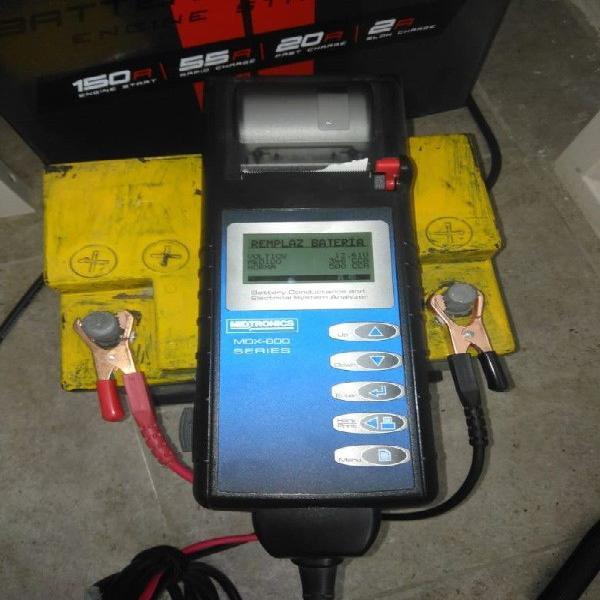 Escaner para baterias midtronics mdx-650p, cambio por auto
