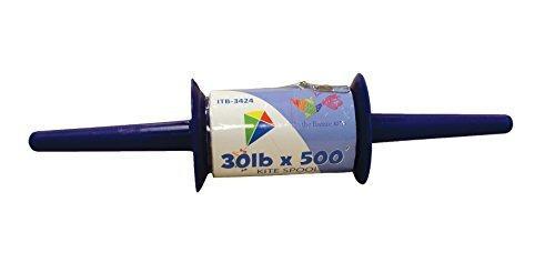 En el breeze kite spool - 30 lb x 500 pies - twisted kite li