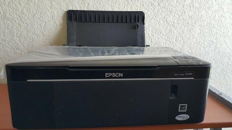 Impresora epson stylus tx120 multifuncional