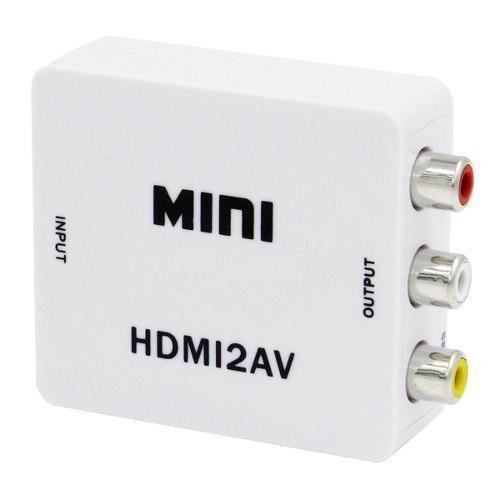 Mini caja de video 1080p hdmi al convertidor de hd