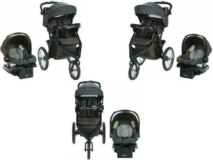 Nueva- carriola graco trax jogger con porta bebe snugride