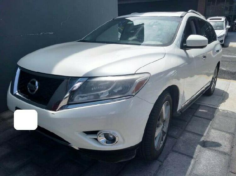 Nissan pathfinder exclusive 2015 ¡¡ seguridad y confort