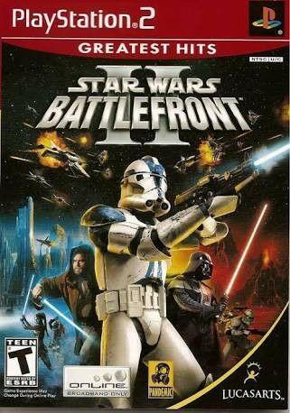 Playstation 2 starwars battlefront 2