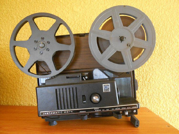 Proyector de cine kodak instamatic m67-k dual 8 y súper 8